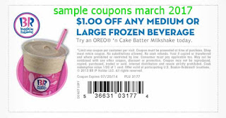 free Baskin Robbins coupons march 2017