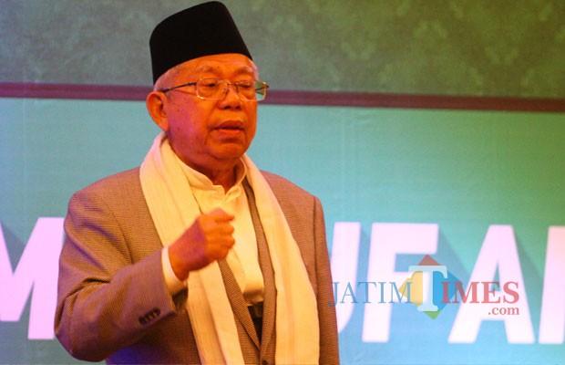 Ma'ruf Amin: Tak Ada Lagi Ungkapan Bagimu Agamamu Bagiku Agamaku