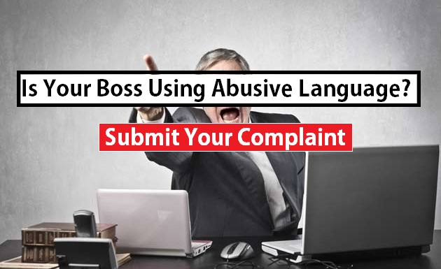 Complaint against Abusive manager in UAE