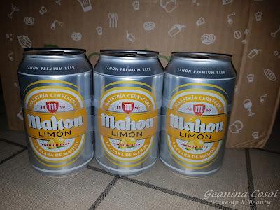 Mahou con limón Caja Degustabox Agosto ´16 - Vuelta al Cole