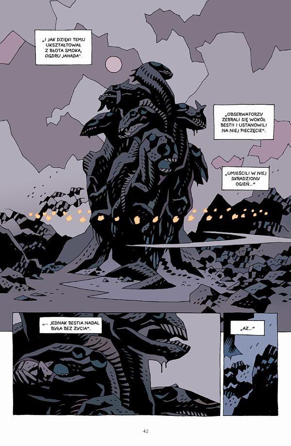 Hellboy tom 3 strona przykładowa