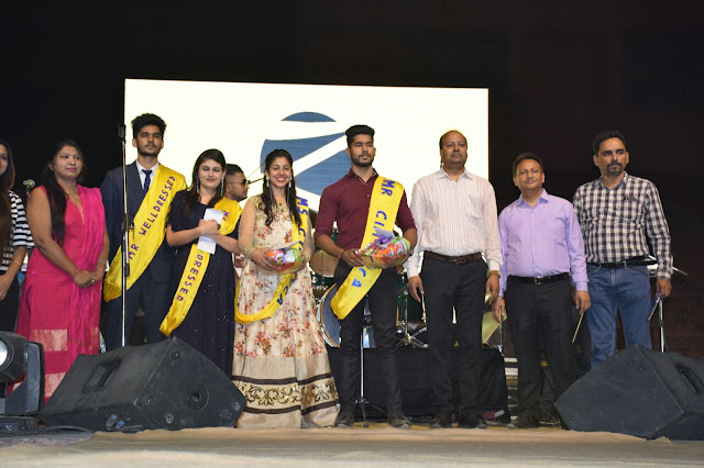 Vishal Kumar and Lavi Dhiman make Mr. and Miss Kalmayka