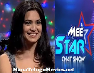 Kriti Karbhanda in Mee Star Show