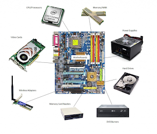 Server physical components
