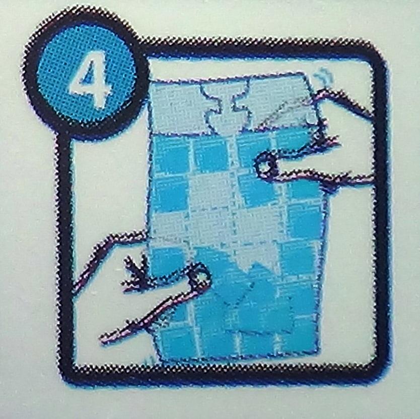 рвем пакет для приготовления кубиков льда и извлекаем готовые кубики