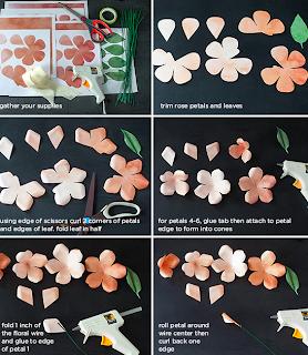 Düğün Çiçeği Buketi Yapımı