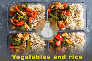 Healthy Toddler Snacks : Vegetables and rice