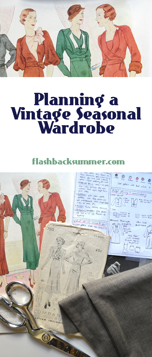 Flashback Summer: Season-Ahead Vintage Wardrobe Planning