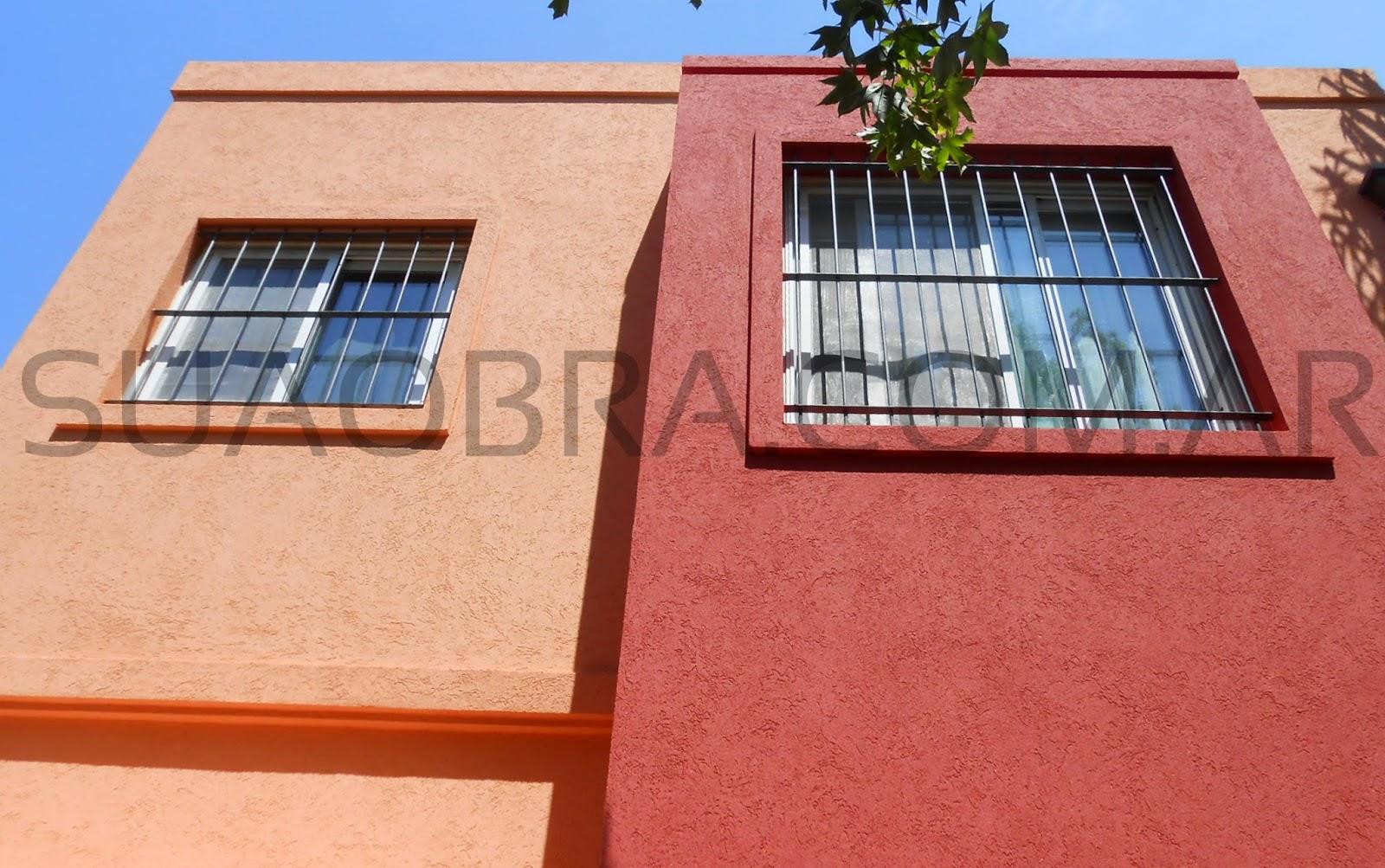 Revoque pl stico exterior de paredes colocaci n - Revestimientos exteriores para casas ...