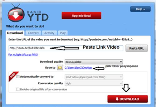 Aplikasi Download Video dari Youtube 100% Berhasil