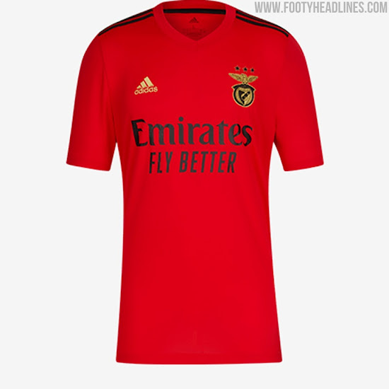 Benfica 20 21 Home Away Kits Released Footy Headlines