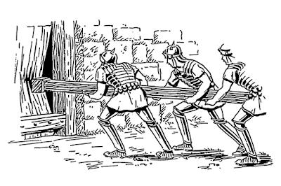 Battling ram