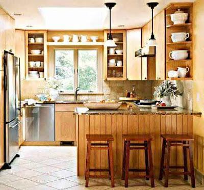 Inspirasi Model Desain Rumah Minimalis yang Bagus untuk Dapur