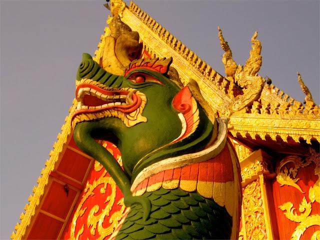A dragon in Nan - Thailand