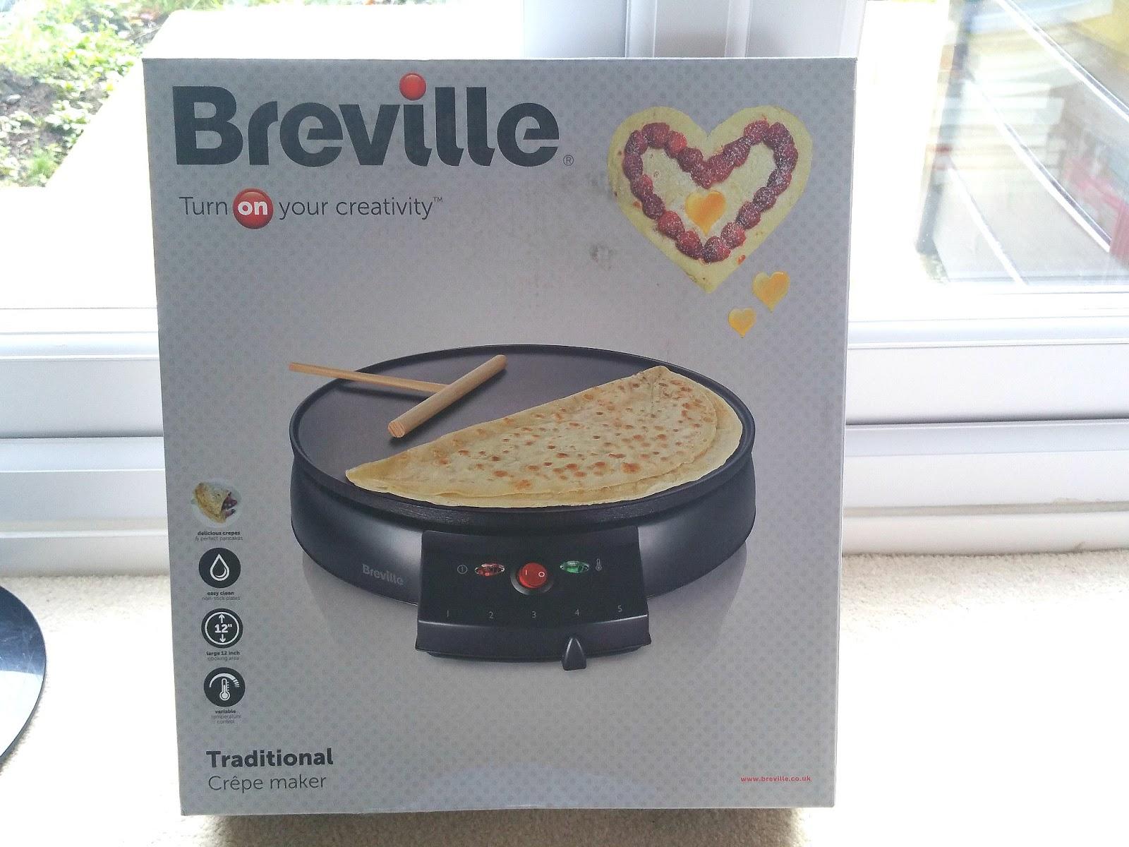 Breville Crepe Maker, Pancake maker, Pancake Day
