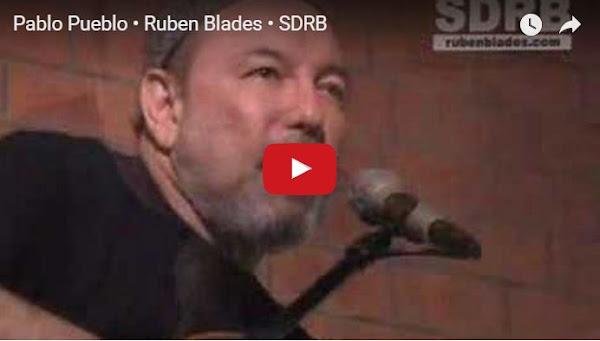Rubén Blades a Maduro: Pablo Pueblo no le roba el futuro a su propia gente