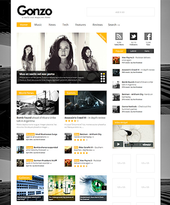 Gonzo - Clean, Responsive WP Magazine - WordPress , download free Gonzo v1.9.7 - Themeforest Clean, Responsive WP , Download Gonzo v1.9.0 - Themeforest Clean, Responsive , Gonzo Wordpress Theme Free Download 1.9.7