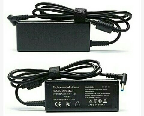 Laptop Charger - 45Watts Power Adapter for HP Laptops - Computers