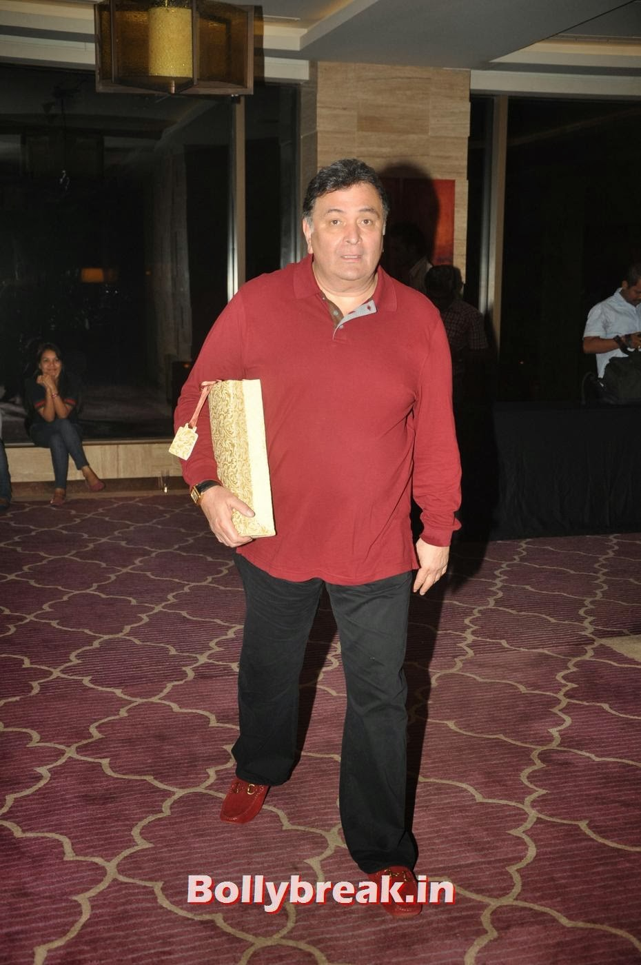 Rishi Kapoor, Bollywood Stars Attend Asin's birthday bash