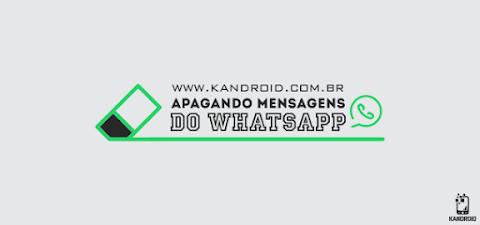 Whatsapp agora permite apagar mensagens enviadas!