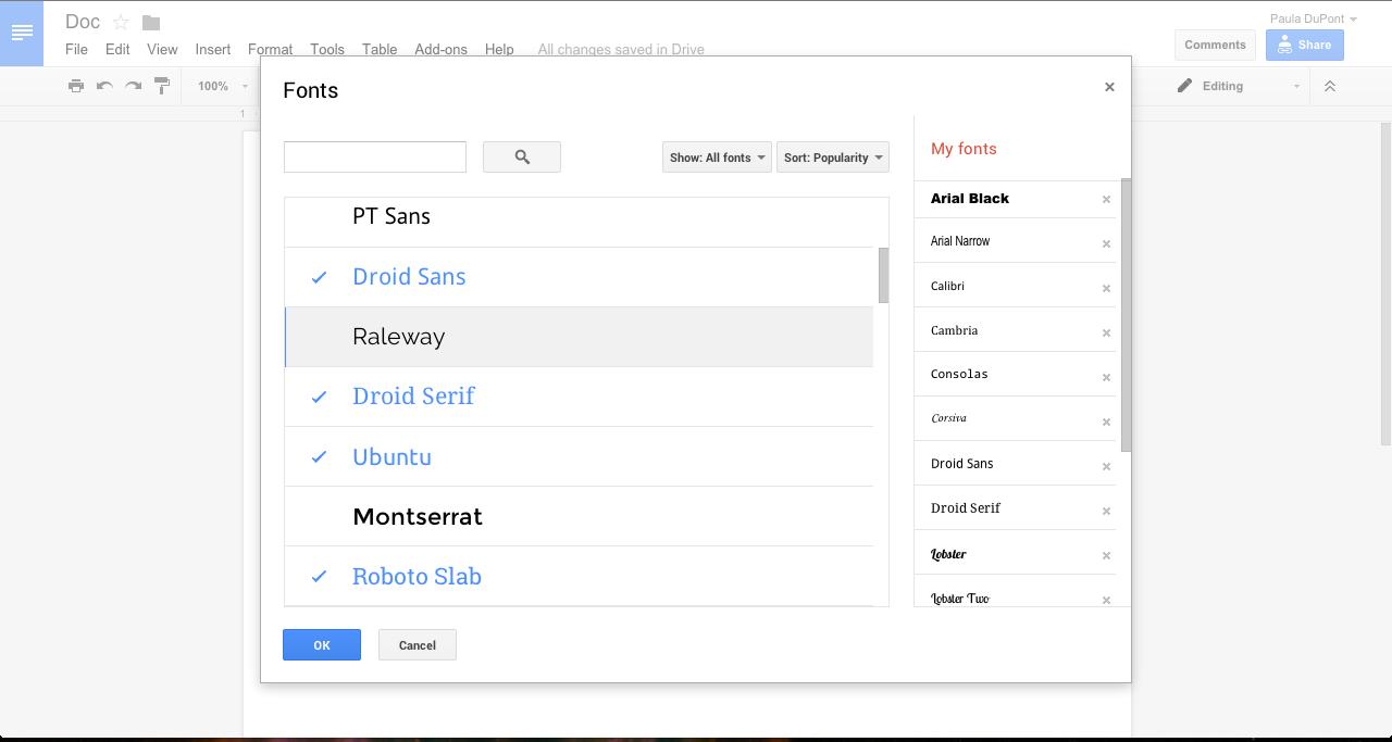 Hello Google Docs Autocorrect