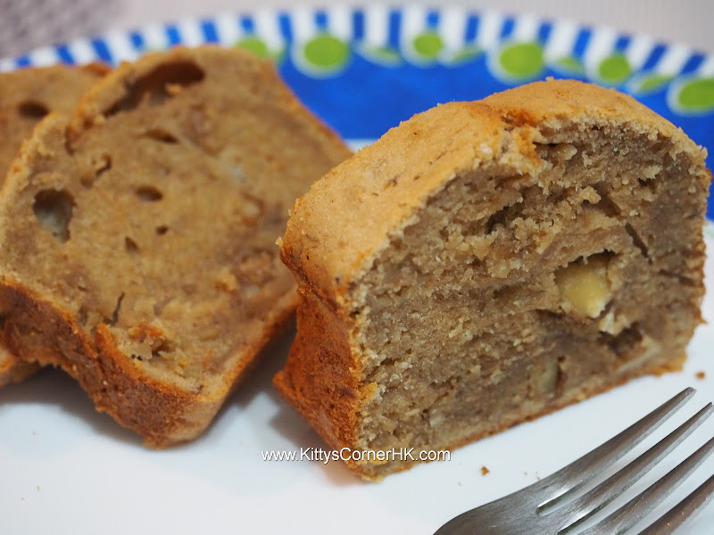 Banana Cake with Walnut 香蕉核桃蛋糕 自家食譜 home cooking recipes