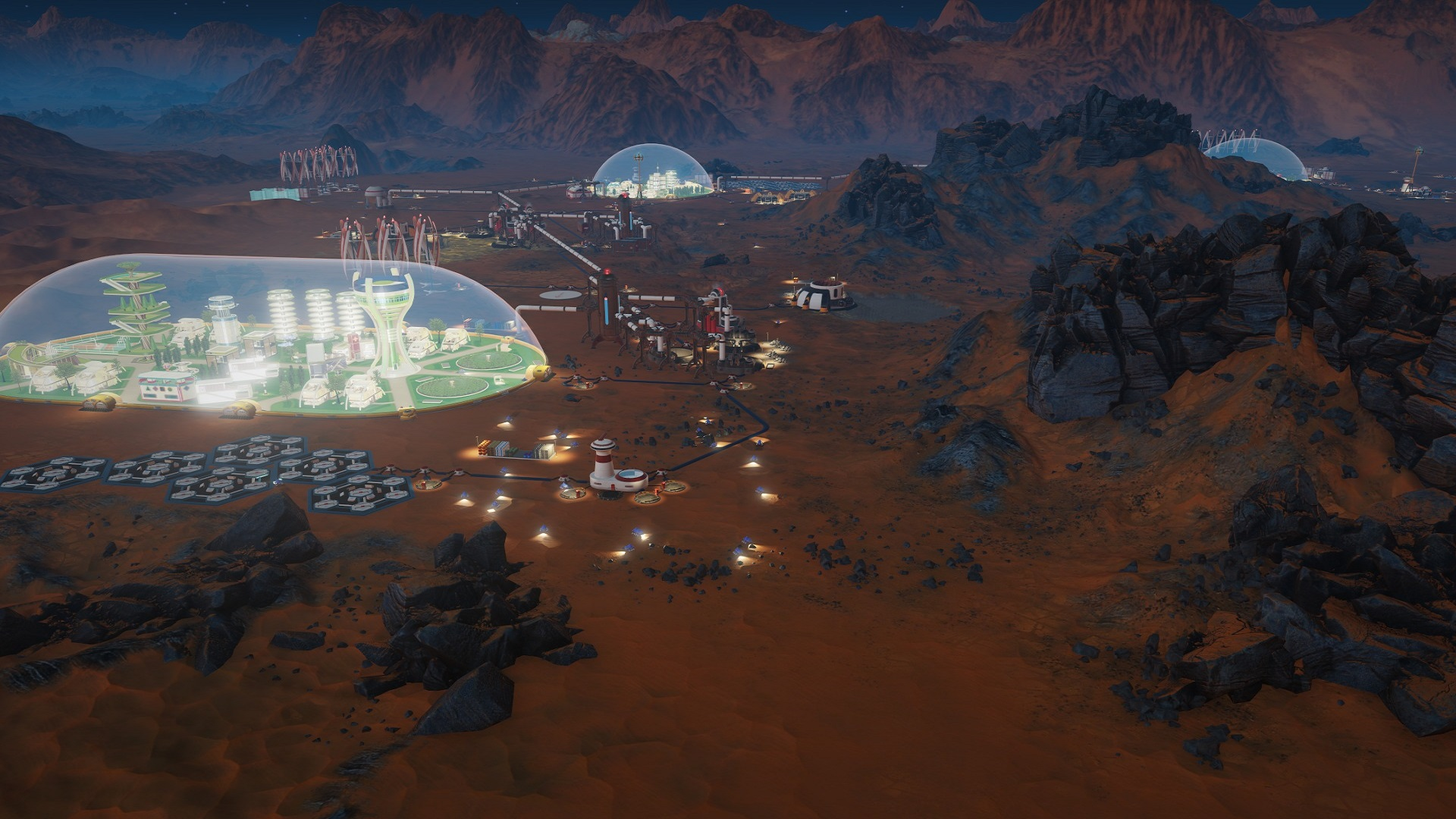 Download surviving mars hd wallpapers read games review - Mars wallpaper ...