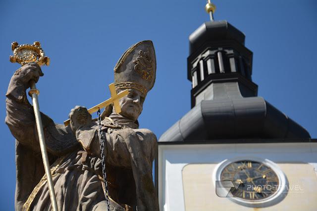 Klasztor w Broumovie mieście partnerskim Nowej Rudy w Kotlinie Kłodzkiej.
