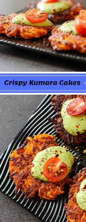 Crispy Kumara Cakes