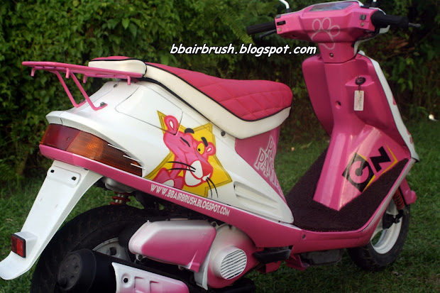 Suda Siap Pd 1 4 2013.pink Panther Fully Airbrush