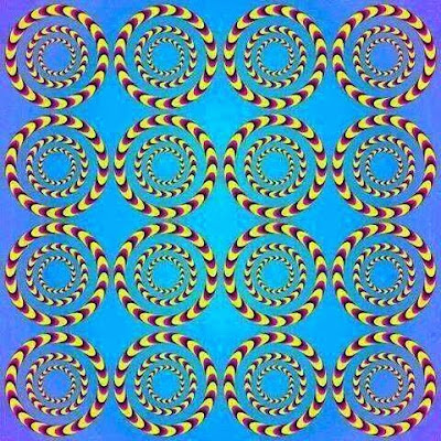 Concentric Circles Optical Illusion