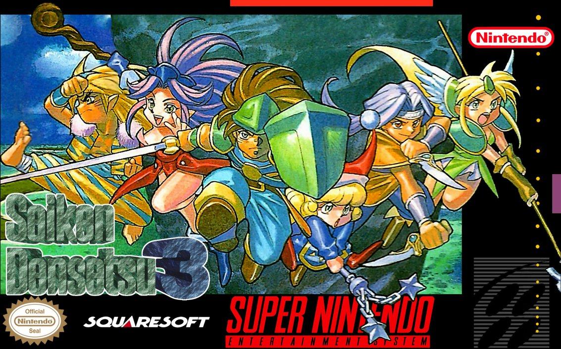 Seiken Densetsu 3 Esp Rpg V2 0 Rom Espanol Super Nintendo