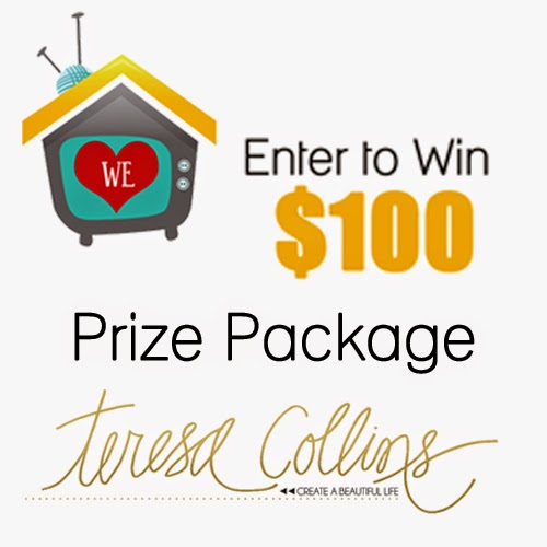 My Craft Channel: We HEART Teresa Collins $100 Giveaway