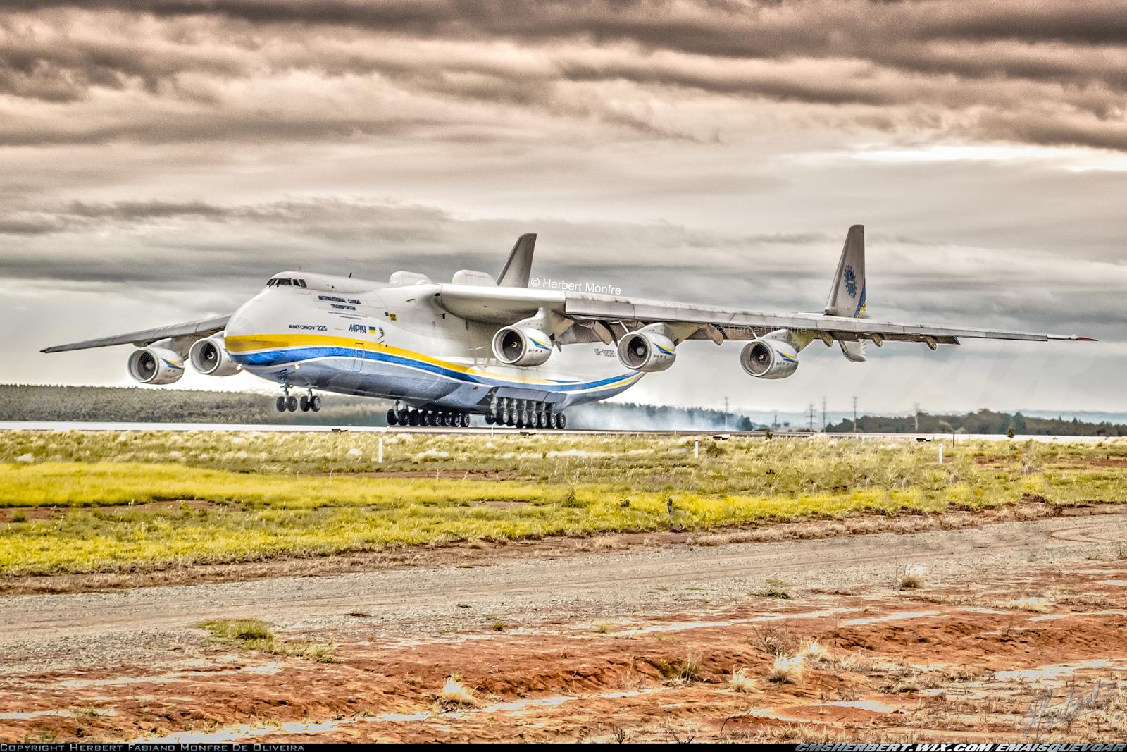Novembro 2016 – O Antonov 225, maior avião do mundo retorna ao Brasil
