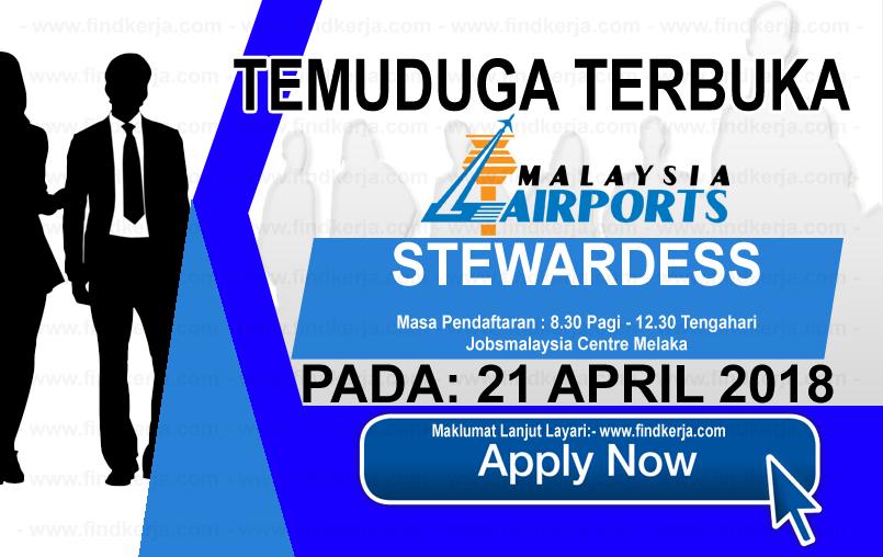 Jawatan Kerja Kosong MAHB - Malaysia Airlines Berhad logo www.findkerja.com april 2018