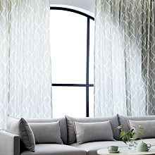 Lighted Curtain Panels Curtains Sheer Lighting