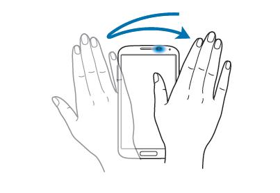 Come usare Galaxy Note 3 senza mani usando Air Gesture