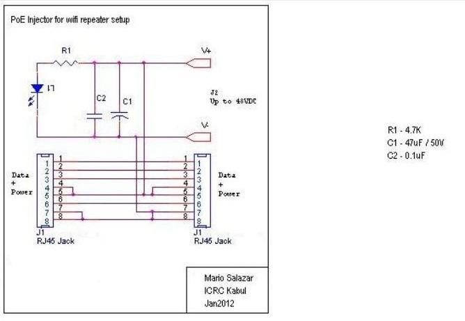 Poe Injector Wiring Quick Start Guide Of Diagram \u2022rhtelefonlarco: Poe Wiring Schematic At Gmaili.net