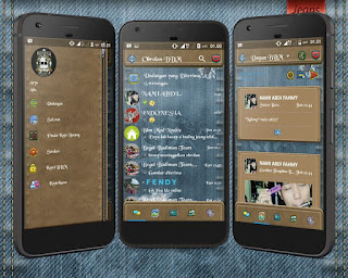 Droid Chat! Tema Blue Jeans v3.2.0.6 Apk