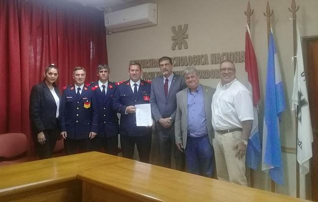 Bomberos Voluntarios entregarán certificados de cursos avalados por la U.T.N. Villa María