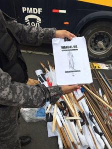 Vanguarda do atraso: baderneiros seguem manual terrorista de Marighela