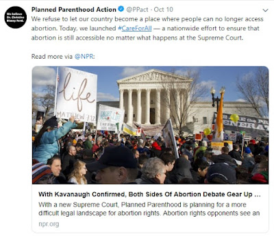 Planned Parenthood's three-part plan for 2019: Abortion, abortion, abortion
