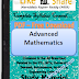 Advanced Mathematics PDF Study Materials cum Notes, Engineering E-Books Free Download