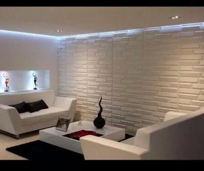 Decora hogar decorar paredes en 3d v deo tutorial - Paredes decorativas interiores ...