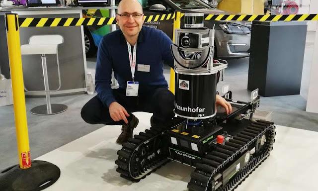 В ЕС тестируют пожарного робот разведчика SmokeBot: сколько выделено на эту разработку?