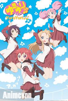 Yuru Yuri 2 - YuruYuri: Happy Go Lily 2012 Poster