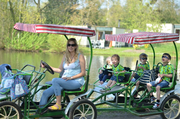 10 person bike, centre parcs de hutteneugte