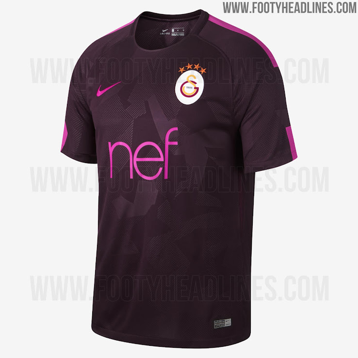 c7241e282 Nike Galatasaray 17-18 Third Kit Released - Footy Headlines