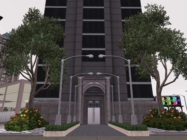 immeuble sims 3 moderne
