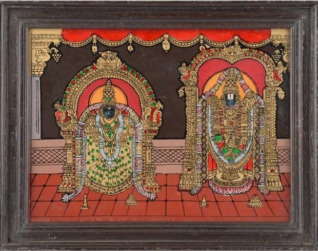 traditional tanjore paintings